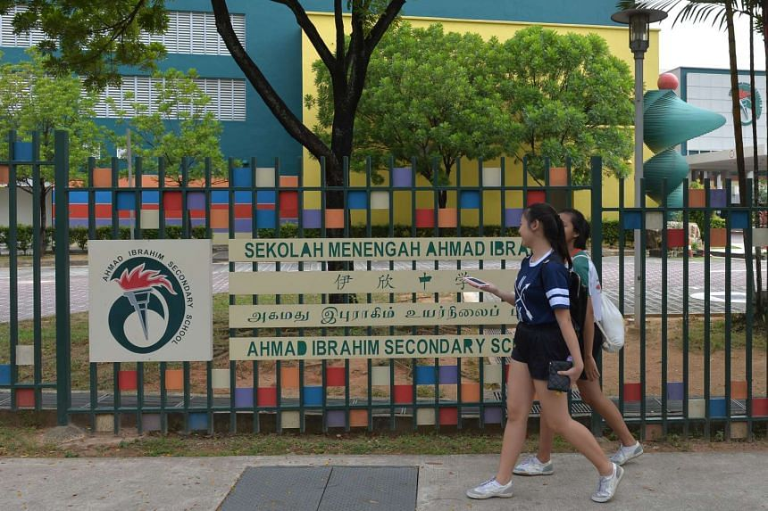Twenty-four Secondary 5 students from Ahmad Ibrahim Secondary School were among those affected by the mix-up.