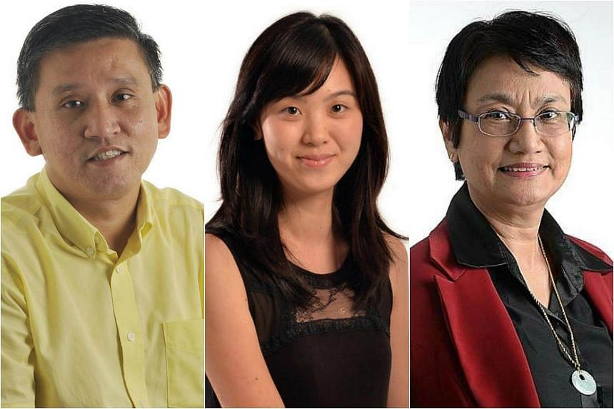 (From left) Straits Times journalists Toh Yong Chuan, Carolyn Khew and Salma Khalik will share their accounts at the ST Conversations series of talks.