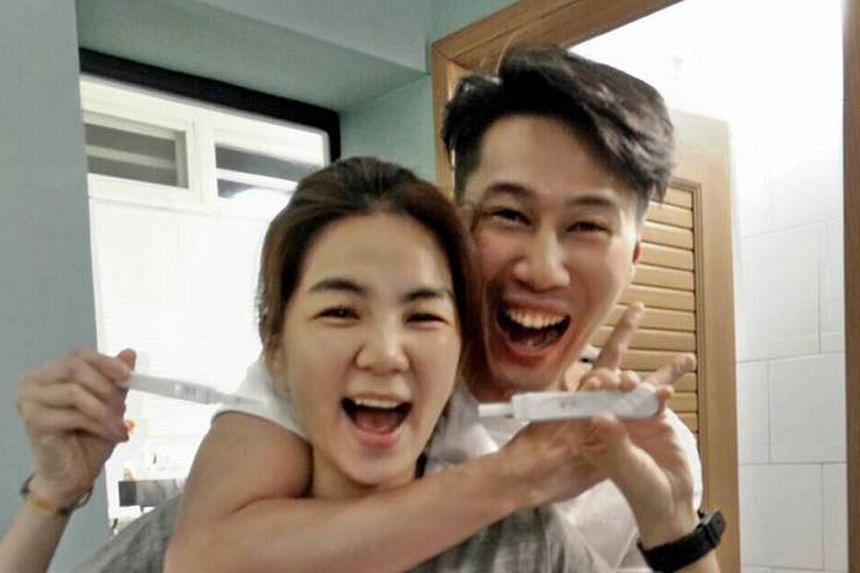 Ella Chen and her husband Alvin Lai announced the good news by posting photos of her positive pregnancy tests.