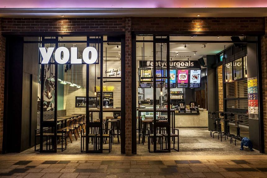 YOLO, an eatery that focuses on serving healthy meals.
