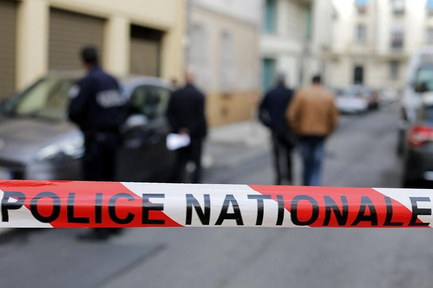 Police officers searching for evidences after MS Jacqueline Veyrac, the head of the five-star Grand Hotel in Cannes, was kidnapped next to her home in Nice, France, on Oct 24, 2016.