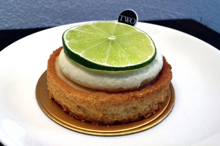 Key lime tart ($7.80) from Two Bakers.
