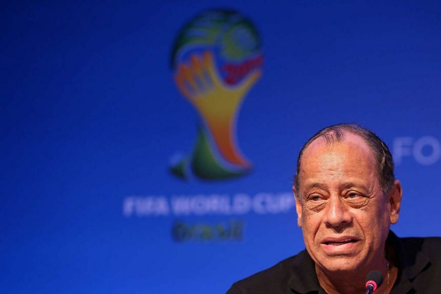 A file picture dated Dec 5, 2013 shows Brazilian former soccer player Carlos Alberto Torres attends a press conference at media center in Costa do Sauipe, Brazil.