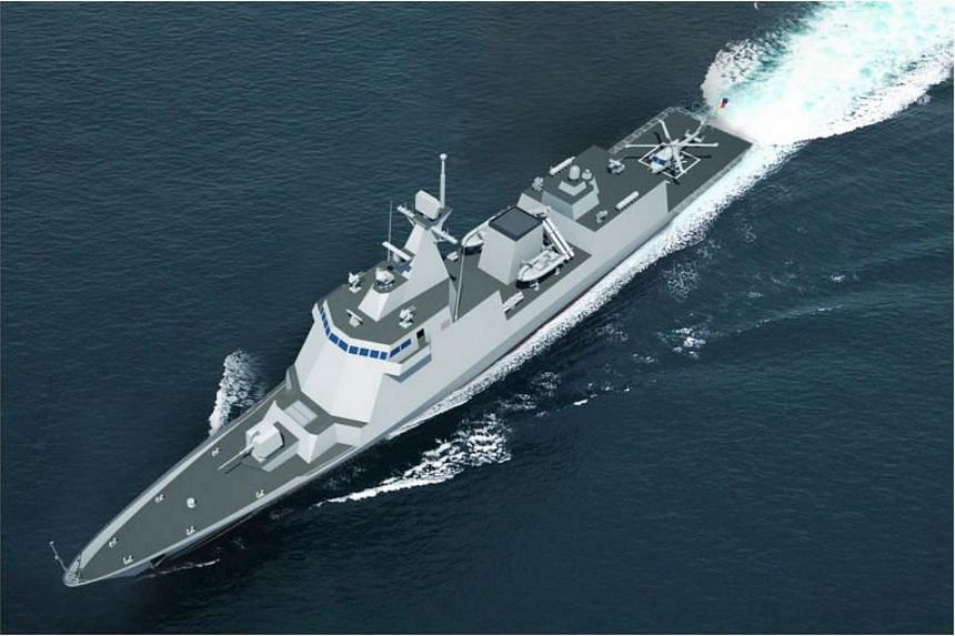 The Philippines has ordered two frigates from Hyundai Heavy Industries.