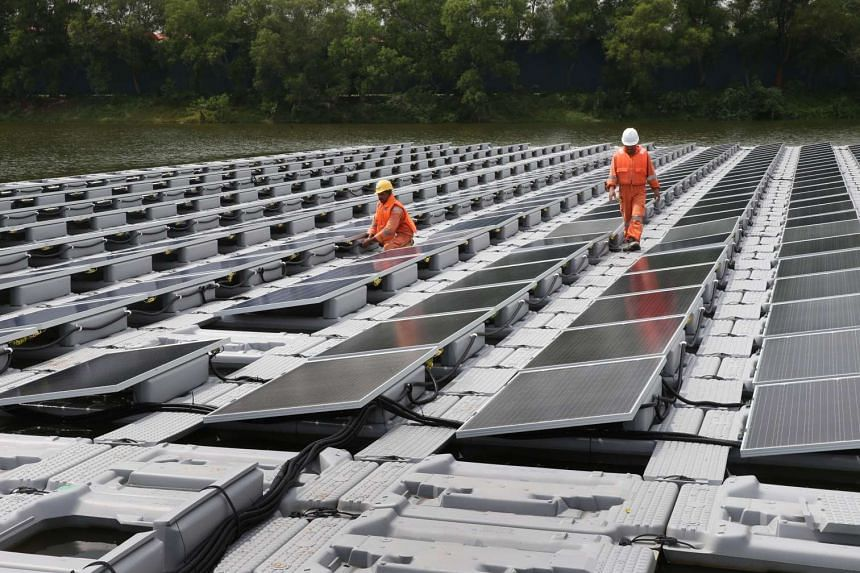 The test-bed will study the environmental impacts of such systems on the reservoir and also features the currently largest floating PV system with active water cooling.