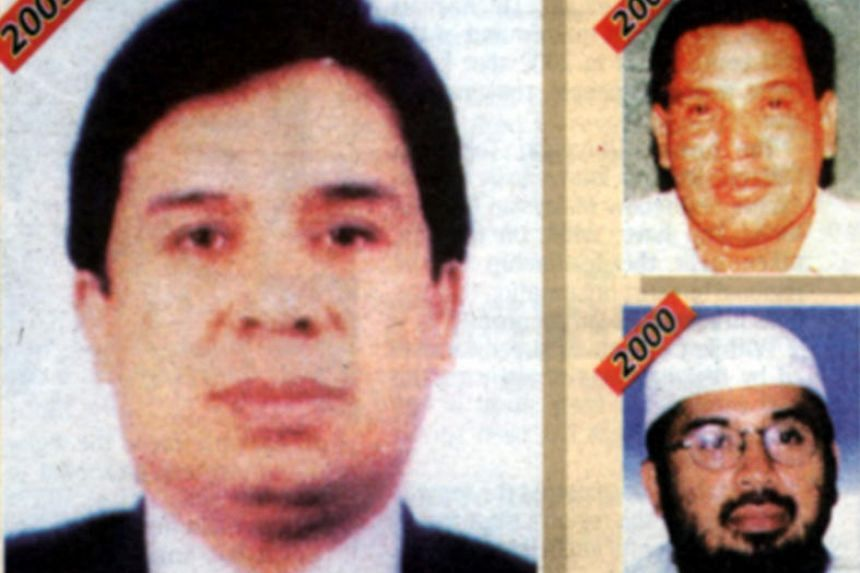 Pictures of Southeast Asian terror mastermind Hambali are seen in front page of Malaysian newspaper The Star.