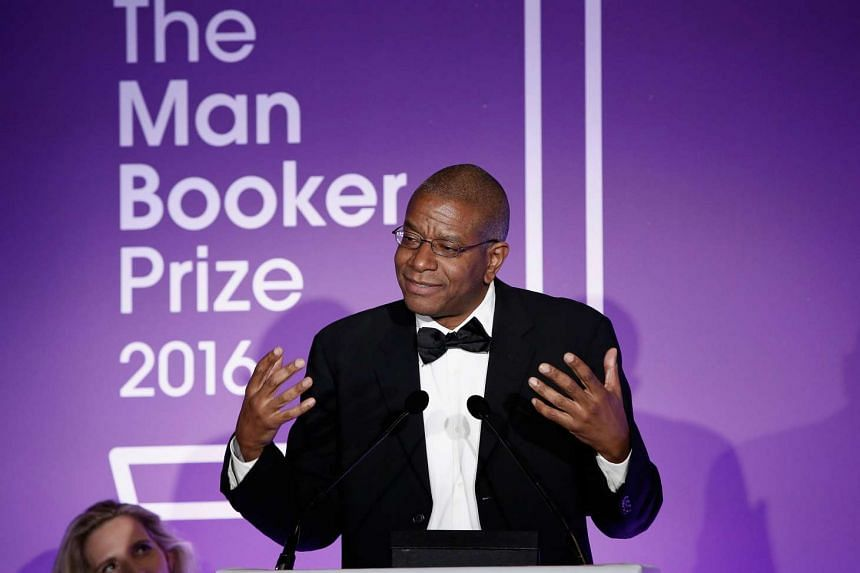 Paul Beatty attends the 2016 Man Booker Prize at The Guildhall on Oct 25, 2016 in London.