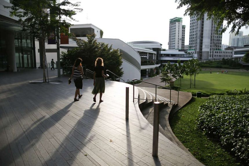 The National University of Singapore campus at Lower Kent Ridge Road.