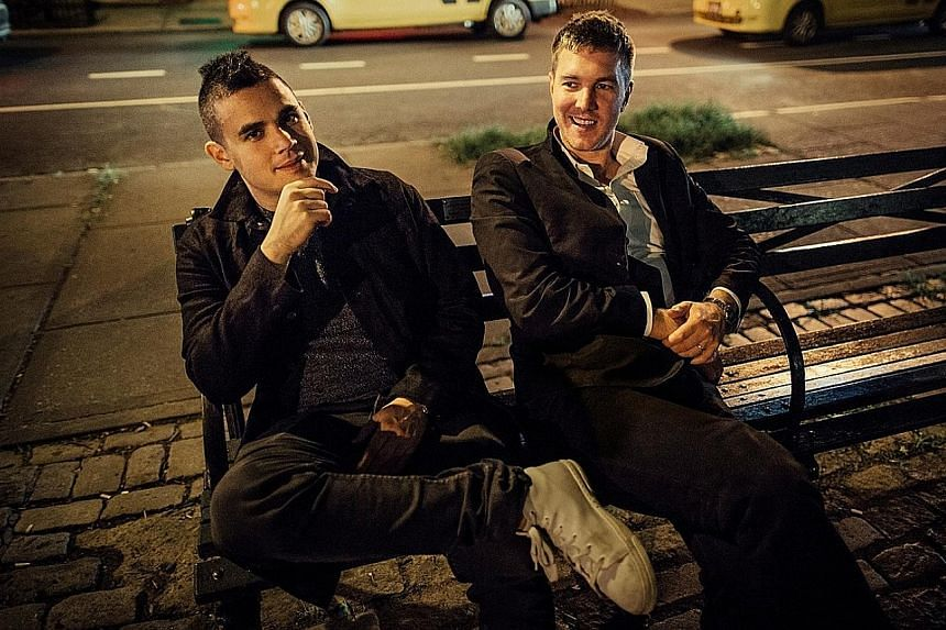 Rostam Batmanglij (far left), the former multi-instrumentalist from Vampire Weekend and Hamilton Leithauser, the frontman of now-defunct indie rock band The Walkmen, have come together for album I Had A Dream That You Were Mine.