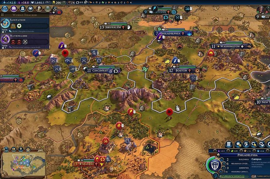 It becomes far too easy to lose yourself in the Civ world for hours on end.
