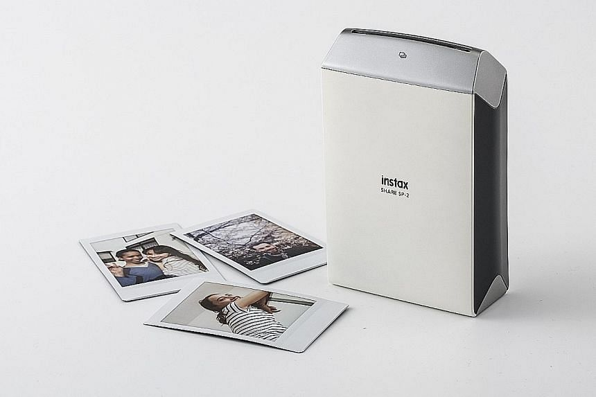 You can even print directly from your Facebook or Instagram account with the Fujifilm Instax Share Printer SP-2.