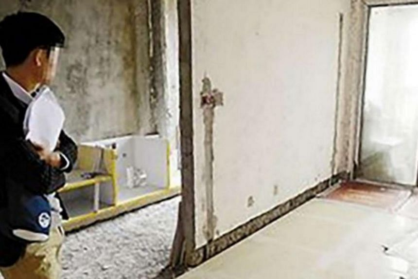The man had already spent 150,000 yuan on renovations before he learnt that it was the wrong apartment.