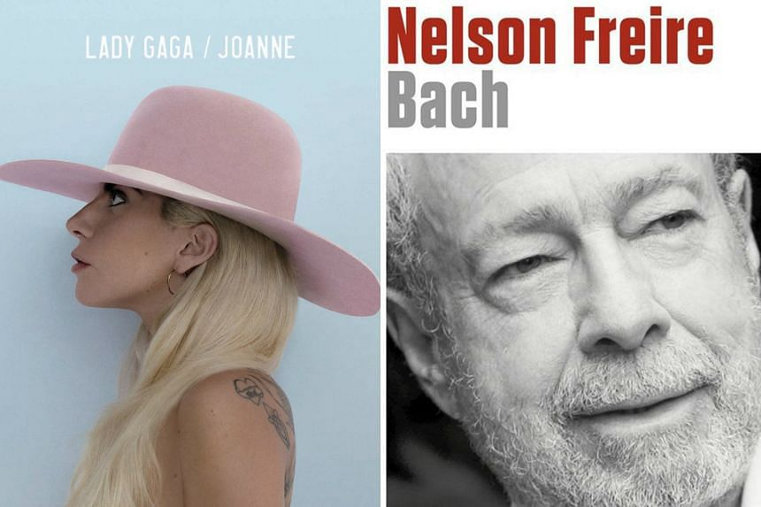New albums from American singer Lady Gaga and Brazilian classical pianist Nelson Freire, as well as other musicians.