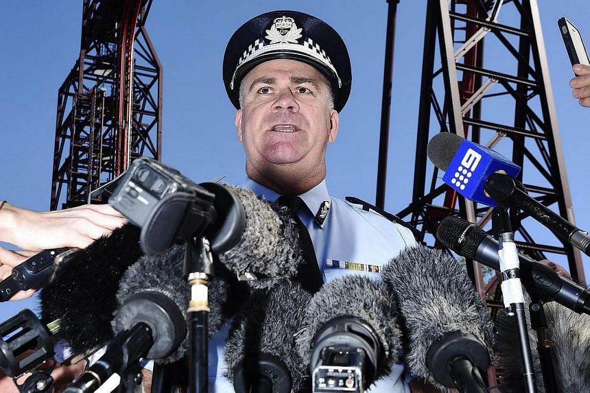 Assistant Police Commissioner Brian Codd addresses media outside the Dreamworld Theme Park on the Gold Coast, Queensland on Oct 26, 2016.