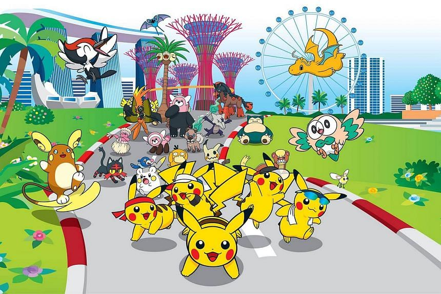 The Promontory @ Marina Bay will play host to South-east Asia's first official Pokemon-themed fun run next year.