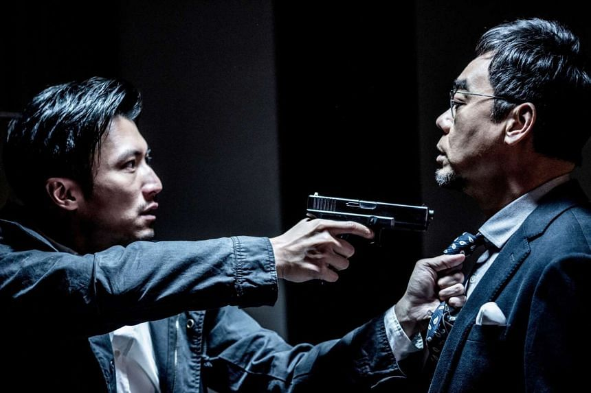 The acting talents of Nicholas Tse (left) and Lau Ching Wan are wasted in Heartfall Arises.