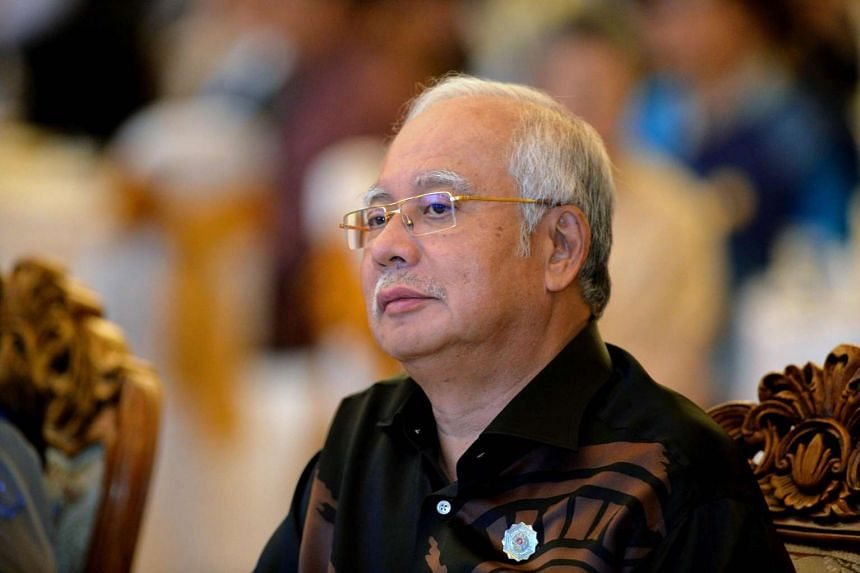 Malaysia Prime Minister Najib Razak at a welcome dinner at the ASEAN Summit in Vientiane on Sept 6, 2016.