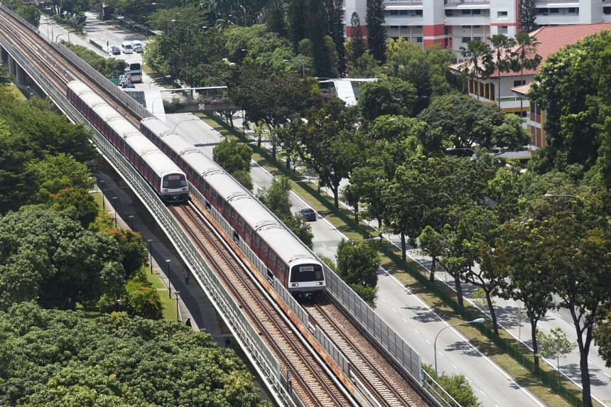 Train service on the East-West Line was affected by a track fault on Thursday (Oct 27) morning at Bugis, with commuters experiencing delays and slower trains due to congestion.