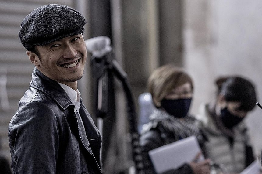 Actor Nicholas Tse plays a cop with a transplanted heart from a criminal he killed in Heartfall Arises.