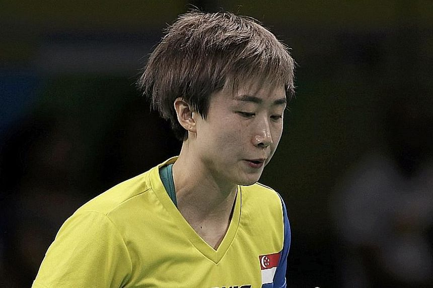 Feng could play in major sporting meets by switching nationalities. But according to ITTF rules, she has to wait three years before representing a new country.