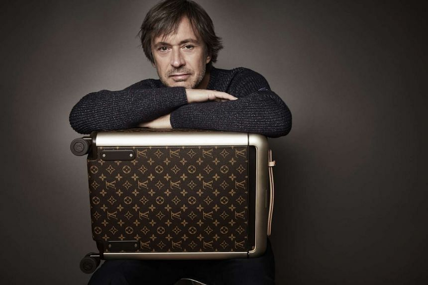 Australian industrial designer Marc Newson, who designed a chest of drawers that sold for more than one million euros at auction house Artcurial.