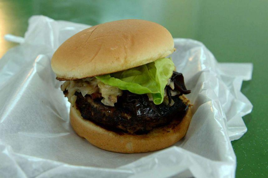 Buah keluak burger from Hambaobao.
