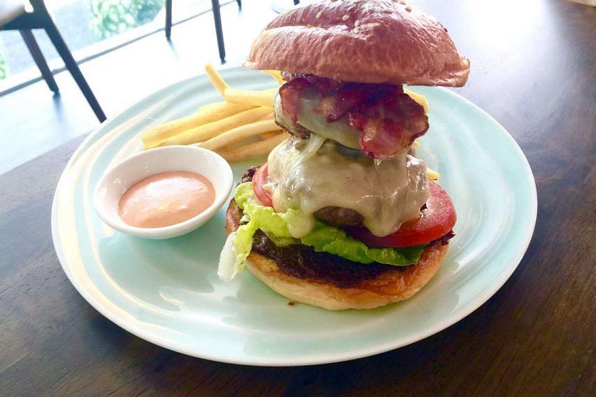 Freak Burger from Patissez at Holland Village.