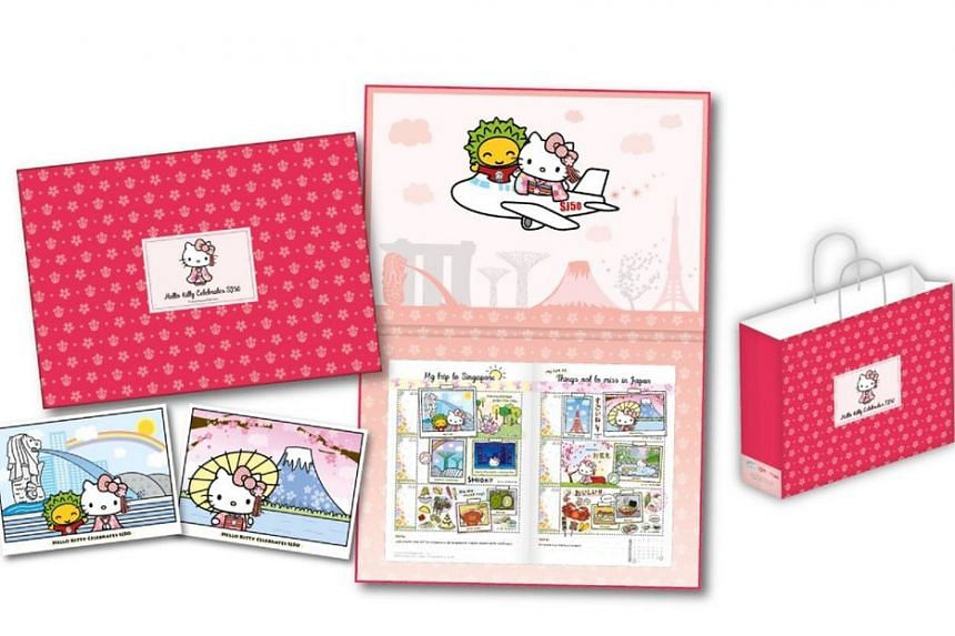 Singapore Post will release a limited edition Hello Kitty MyStamp set on Saturday (Oct 29) to celebrate 50 years of diplomatic relations between Singapore and Japan.