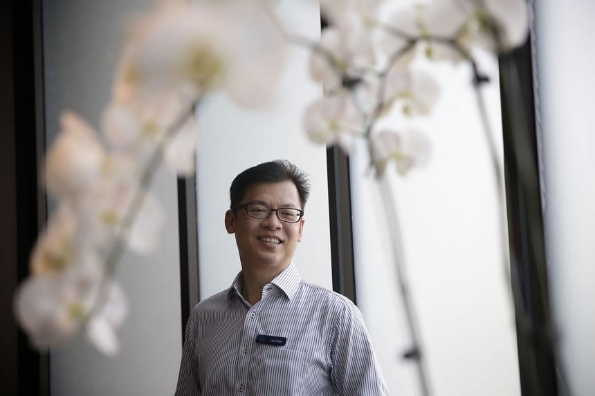 The American Club's assistant director for information technology, Mr Chai, 54, says he enjoys fielding calls from younger colleagues from other departments who look for him whenever they have IT problems. The number of calls he gets determines his value,