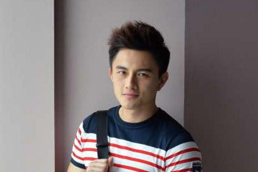 Singaporean-Chinese actor Shane Pow