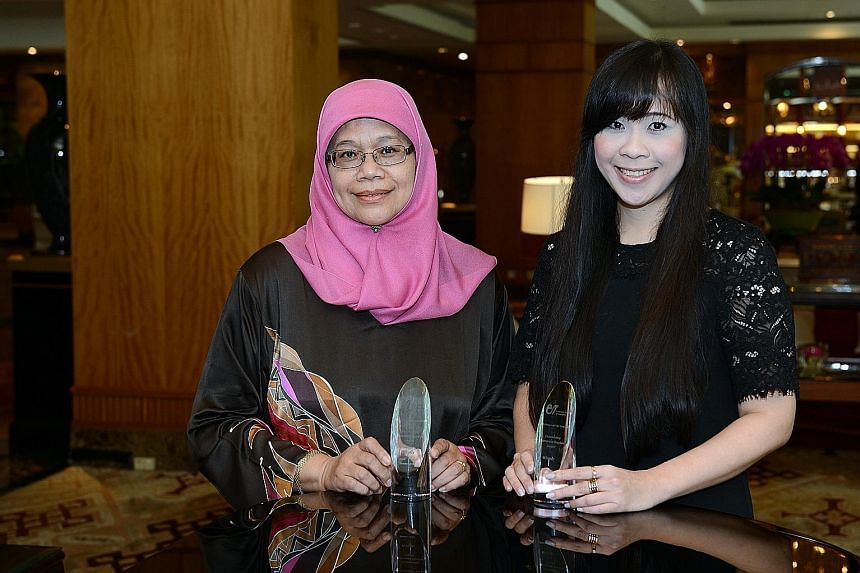 Madam Rahimah and Ms How, who beat about 30 other nominees, are lauded for demonstrating excellence in their field.