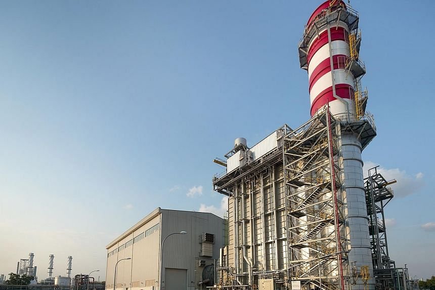 A gas-fired power plant developed, owned and operated by Sembcorp Industries in Singapore. Sembcorp said the Singapore utilities business continues to face intense competition in the power market.