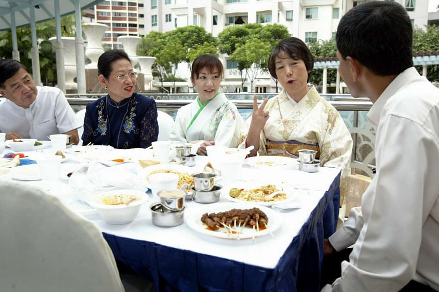 Launch of AMCIS Homestay services in 2004 where Singaporeans host foreigners in their homes for a few days like Frank and Annie Tseng who hosted Japanese mother and daughter Machiko and Akie Kitanishi in their homes for five days.