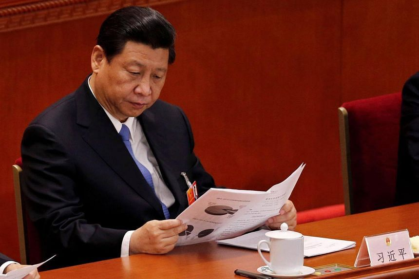 Two senior military officers from China's ruling Communist Party have been expelled, as part of President Xi Jinping's (pictured) sweeping campaign against graft in all sectors of the government.