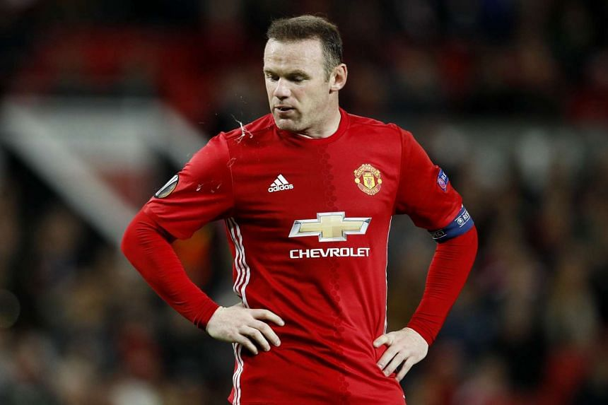 Manchester United's Wayne Rooney during a UEFA Europa League match against Fenerbahce SK on Oct 20, 2016.