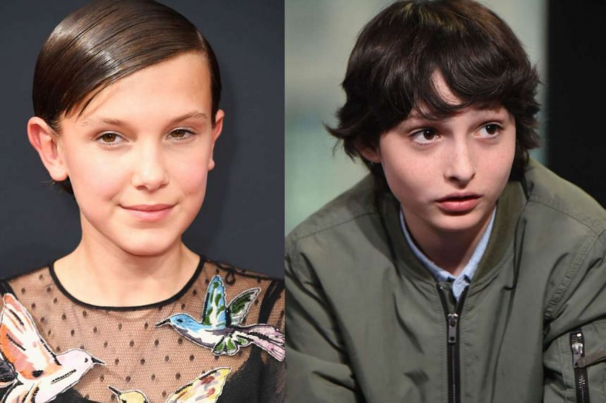 Millie Bobby Brown and  Finn Wolfhard