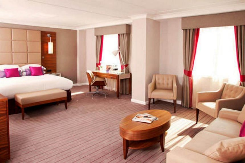 An executive suite at Cambridge City Hotel in the UK.