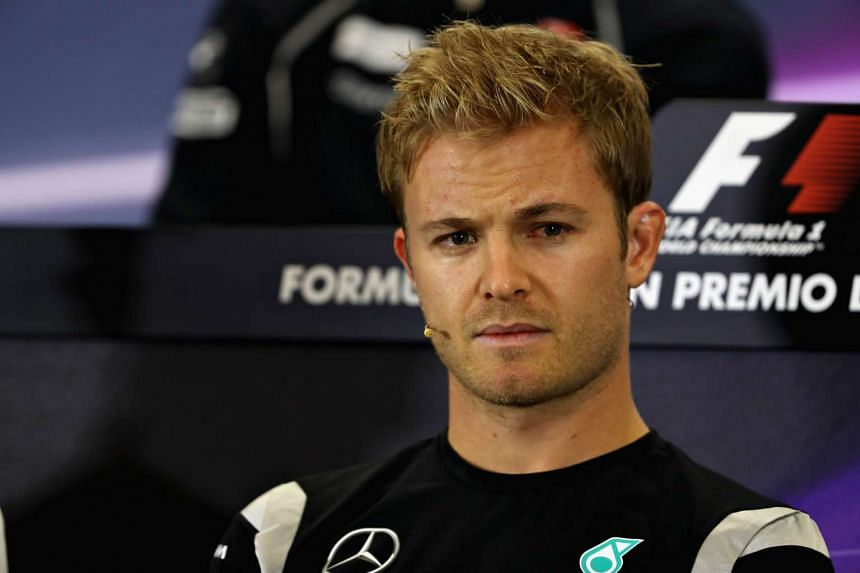 Nico Rosberg of Germany and Mercedes GP talks in the Drivers Press Conference during previews to the Formula One Grand Prix of Mexico at Autodromo Hermanos Rodriguez on Oct 27, 2016 in Mexico City, Mexico.