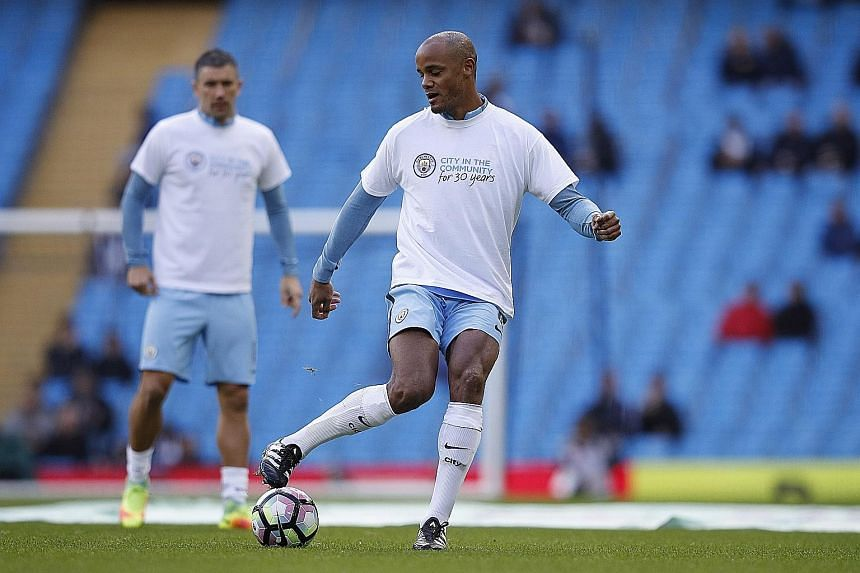 Manchester City captain Vincent Kompany was able to train on Thursday and could be passed fit to play against West Bromwich Albion today, despite coming off at half-time against Manchester United in the League Cup.