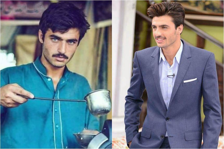 Arshad Khan went from tea seller to model and celebrity after a photo of him went viral.
