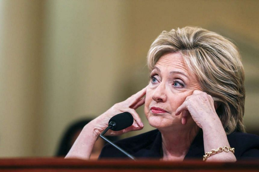 Hillary Clinton testifies before the House Select Committee on Benghazi, on Capitol Hill, Washington, on Oct 22, 2015.