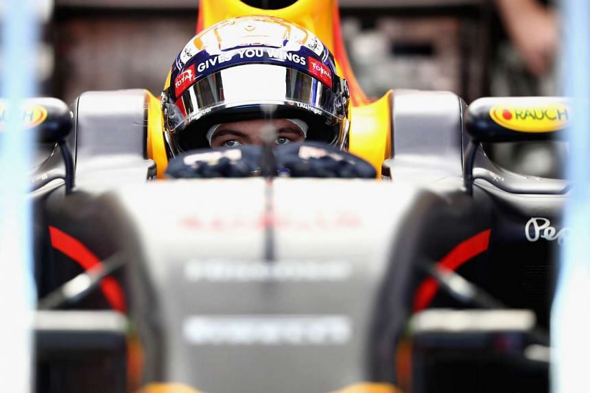 Max Verstappen of Netherlands and Red Bull Racing sits in his car in the garage during final practice for the Formula One Grand Prix of Mexico at Autodromo Hermanos Rodriguez on Oct 29, 2016 in Mexico City, Mexico.