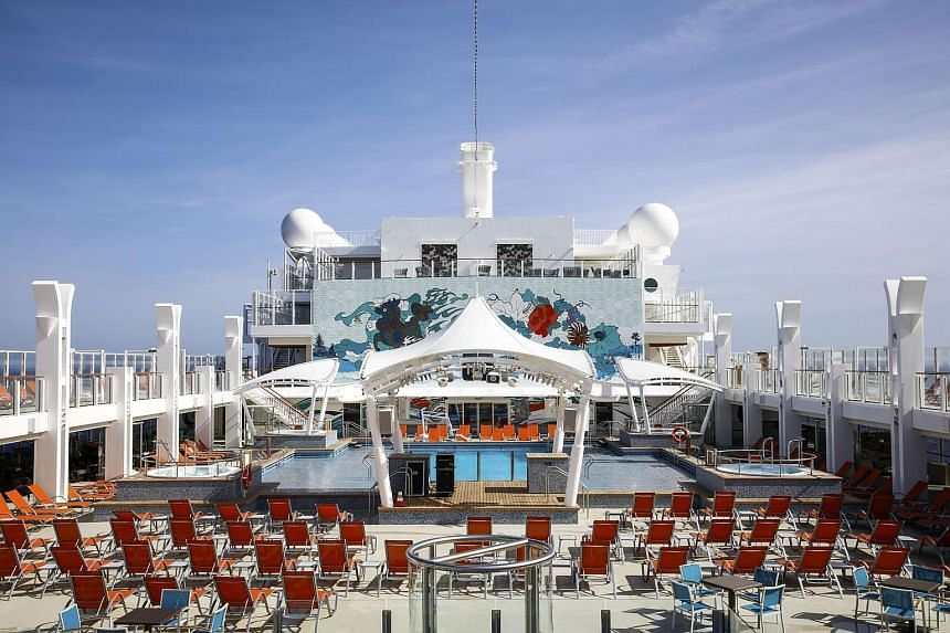 The Genting Dream cruise liner is set to make its maiden voyage on Nov 13 from its home port of Guangzhou, marking the beginning of a bet on China worth at least US$5 billion (S$7 billion).