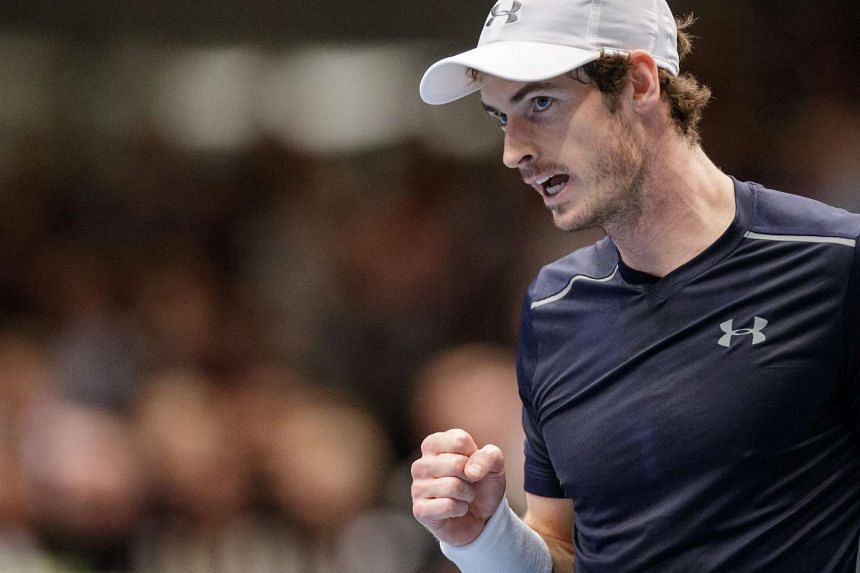 Andy Murray defeated Jo-Wilfried Tsonga to win the Vienna Open on Oct 30, 2016.