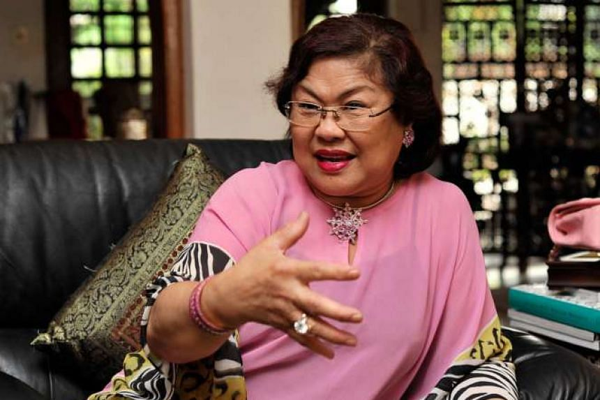 Mr Kalimullah Hassan says Mr Najib suggested that Ms Rafidah Aziz (above) be appointed chairman of AirAsia X.