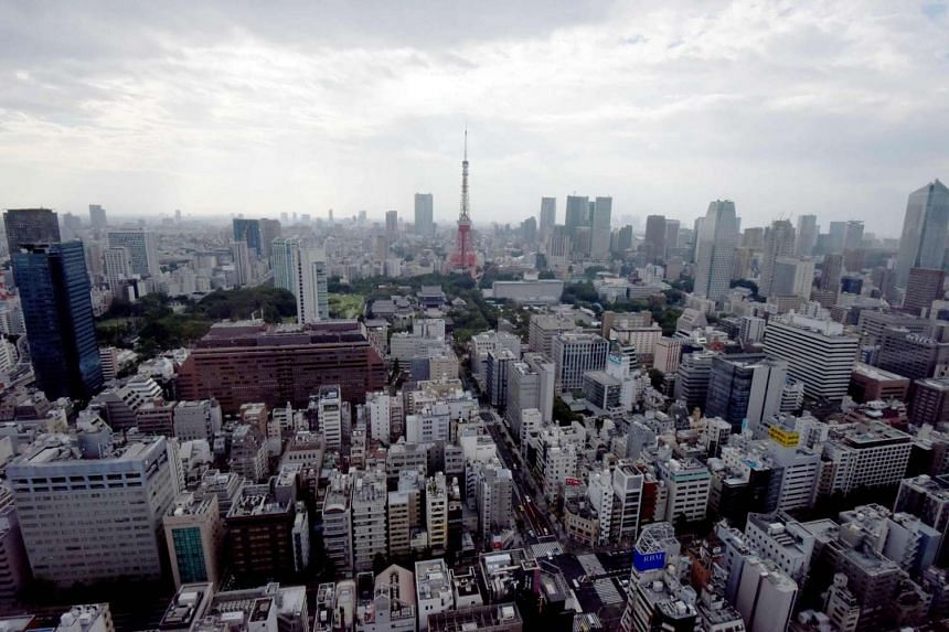 A view of Tokyo city centre on Aug 16. A patient's fart during a surgical procedure allegedly sparked a fire which caused her to be seriously burnt in the Tokyo Medical University Hospital.