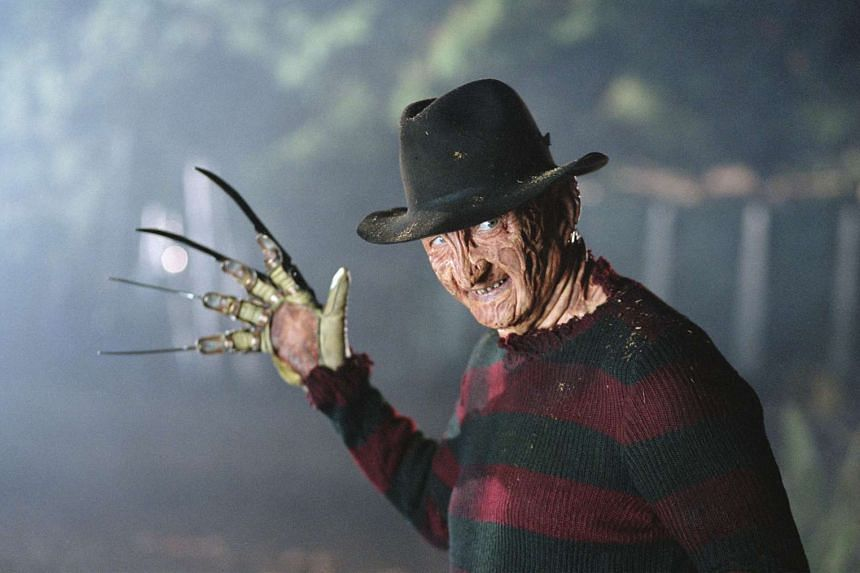 A man dressed as fictional murderer Freddy Krueger (above) appeared uninvited at a Halloween party in San Antonio, Texas and shot five people after an altercation.