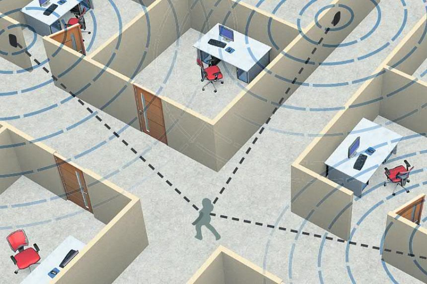 Indoor positioning: Devices such as smartphones can be configured to detect signals from Wi-Fi, Bluetooth or ultra-wideband transmitters located around the building.