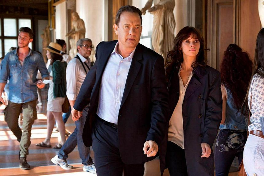 Tom Hanks and Felicity Jones in Inferno.