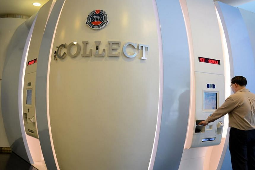 Singaporeans can collect their new passports at iCollect, a self-service kiosk at the eLobby@ICA, located on the ground floor of the Immigration and Checkpoints Authority Building.